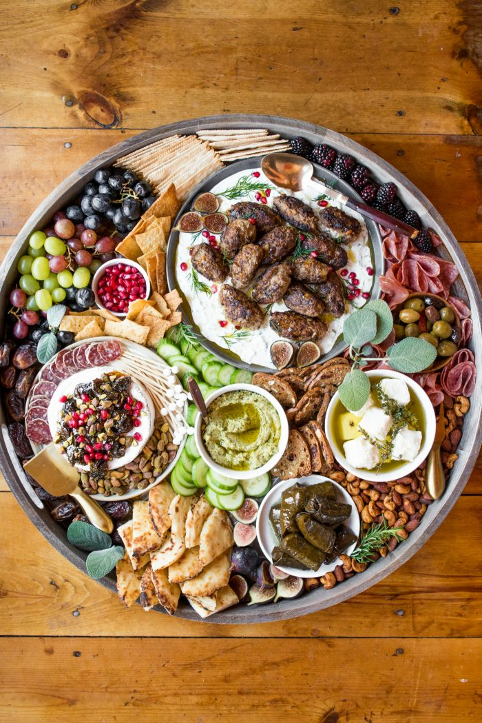 Best EPIC Lamb Kofta Charcuterie Board
