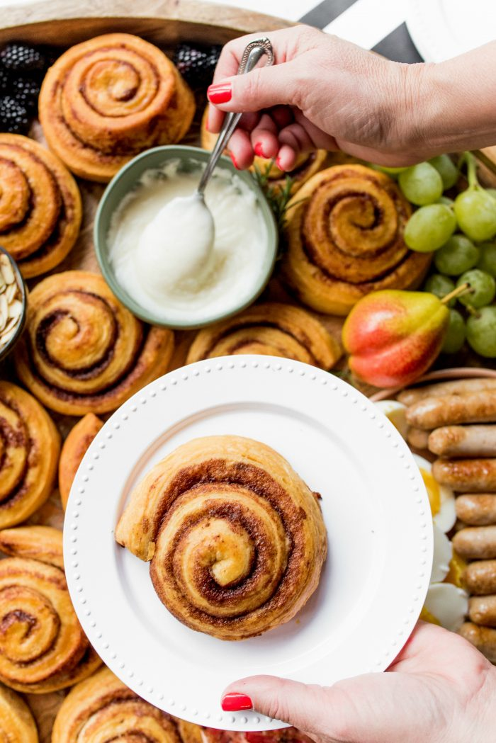Make your own cinnamon roll
