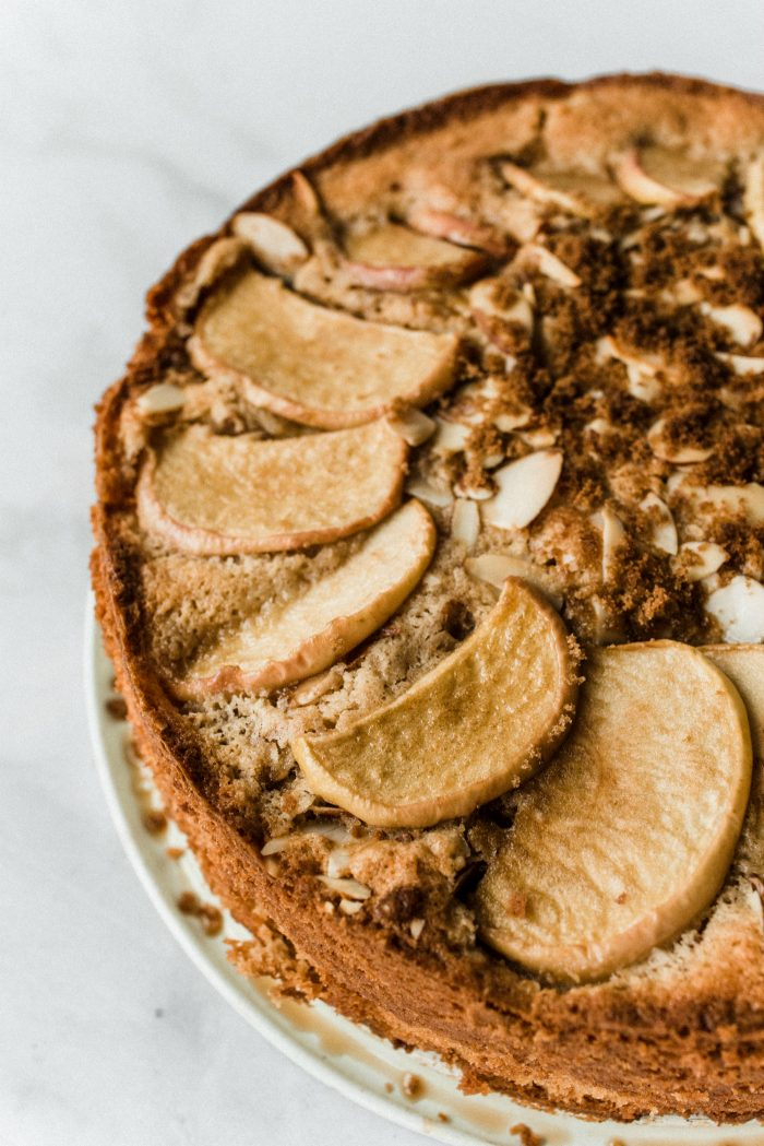 How to make Spelt Cinnamon Apple Cake