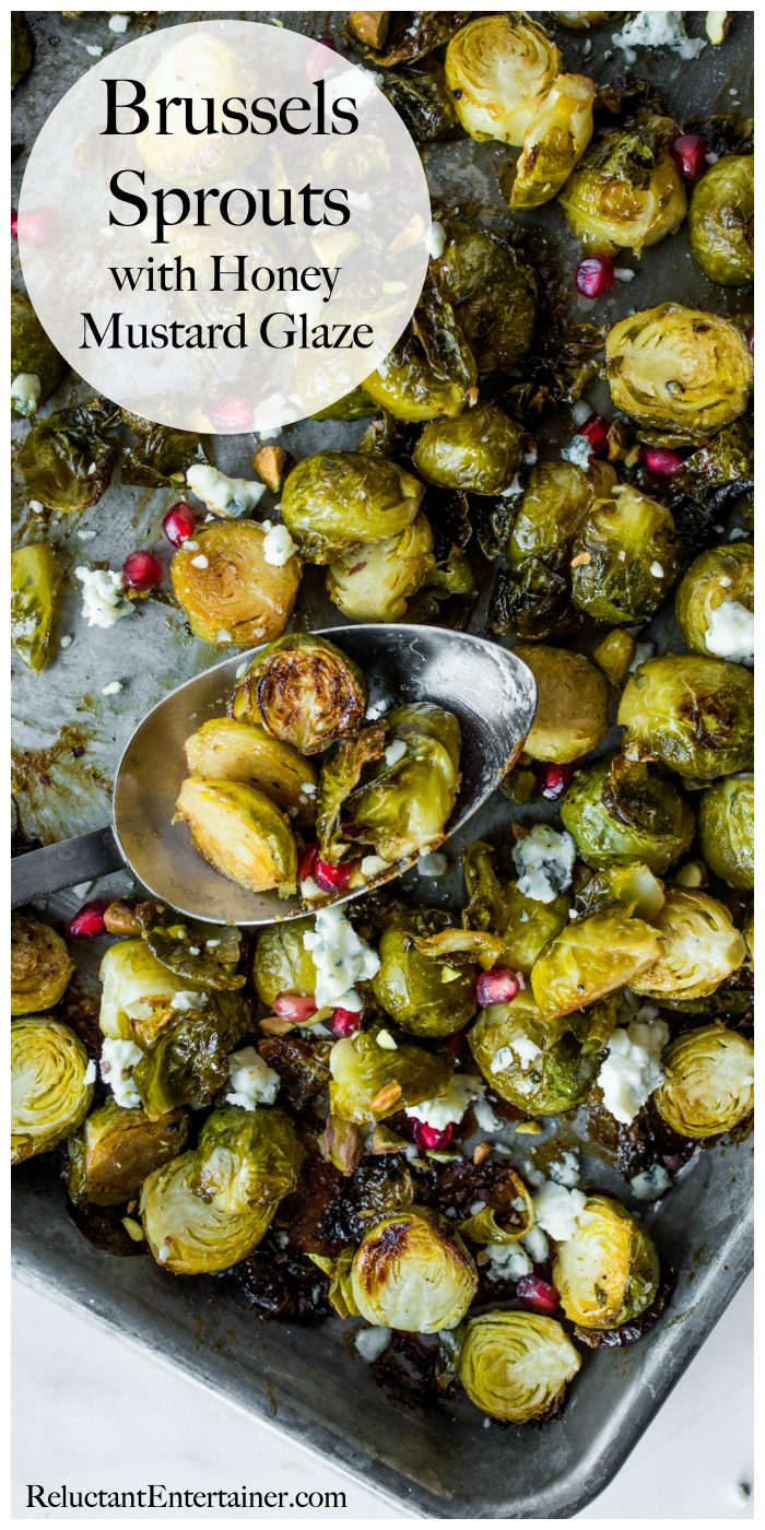 Brussels Sprouts with Honey Mustard Glaze Recipe
