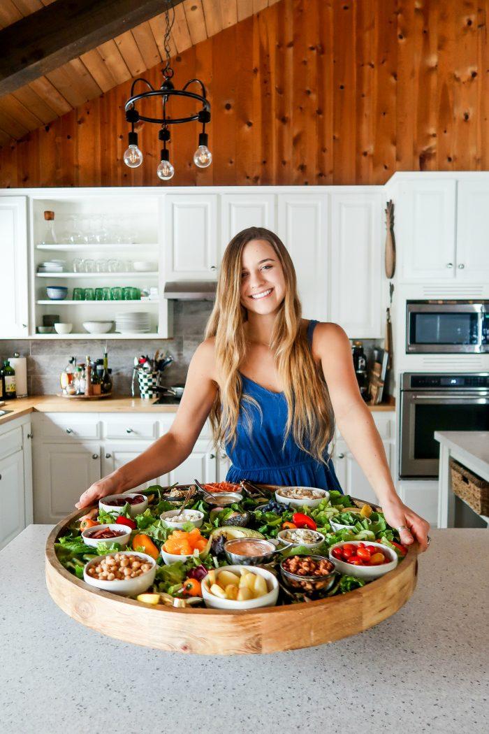 BEST Epic Dinner Salad Board Recipe