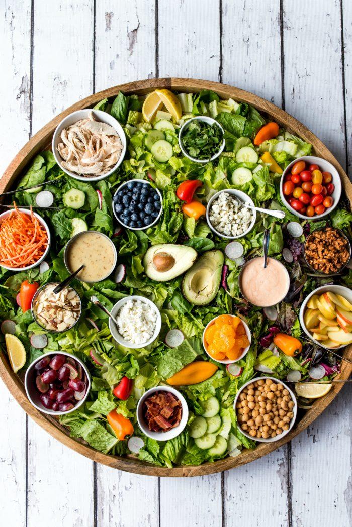 Epic Green Dinner Salad Board Recipe