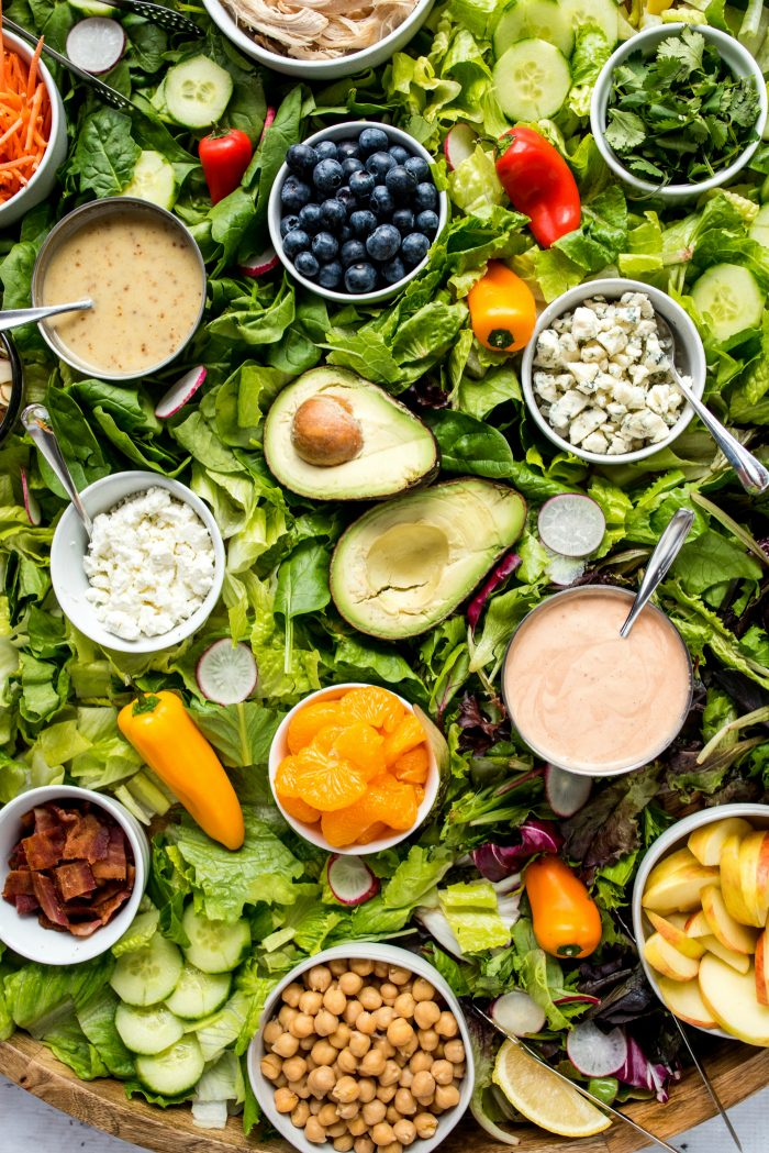 Healthy Epic Dinner Salad Board