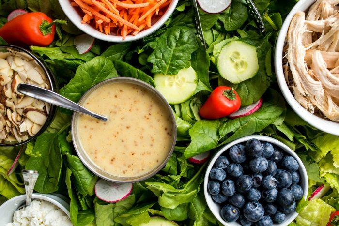 Epic Green Dinner Salad Board