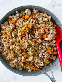 TACO MEAT Ground Turkey Sweet Potato Meat