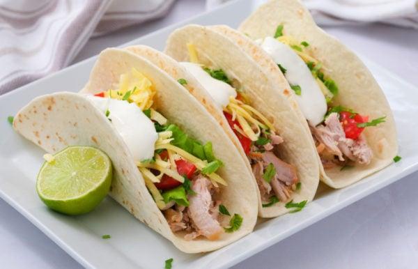 delicious pork tacos