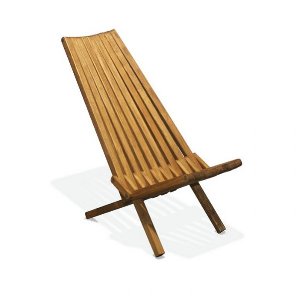 one brown stick chair
