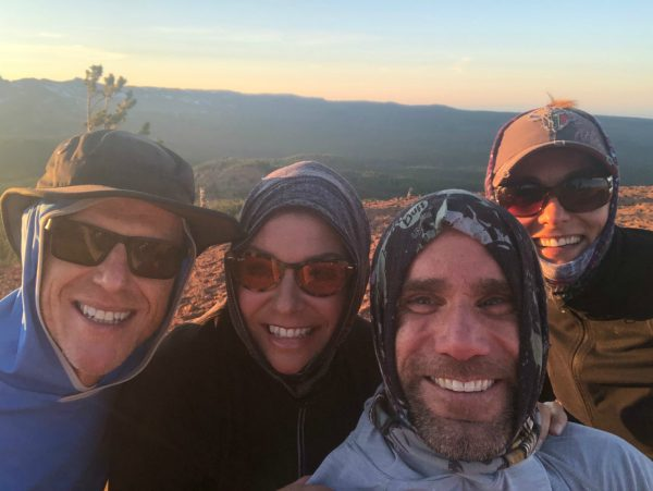 friends together on tumalo ridge