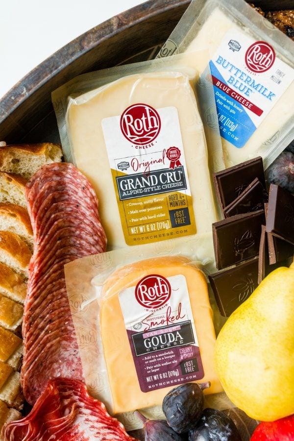 Roth cheese, 3 varieties