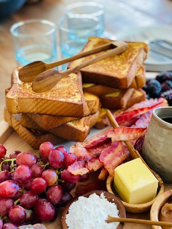 brioche french toast breakfast board