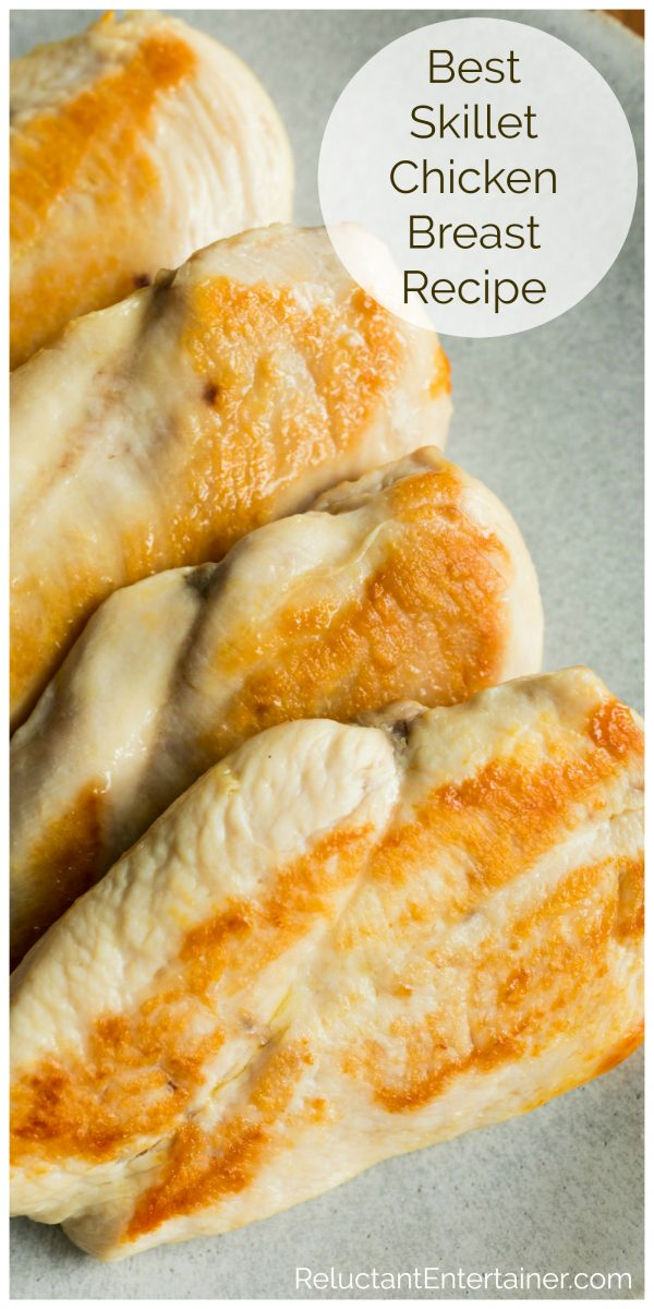 4 cooked chicken breasts