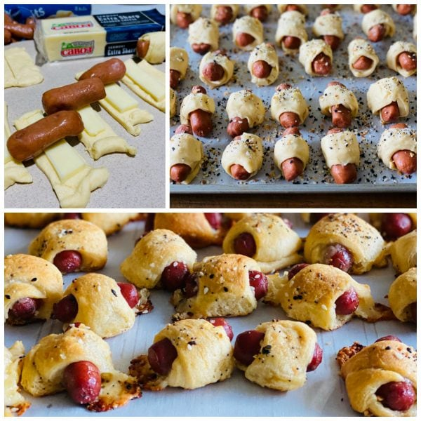 how to make mini crescent dogs