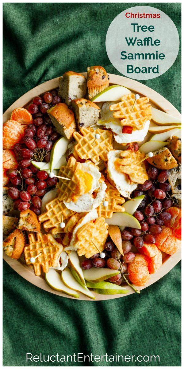 egg sammie breakfast board