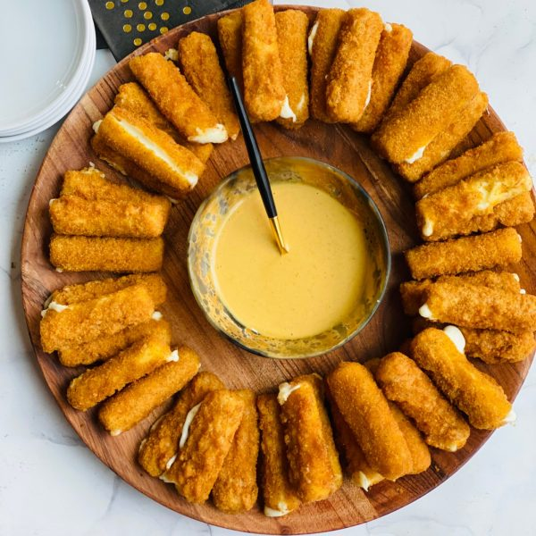 Air Fryer Cheese Sticks with Chick-Fil-A Sauce