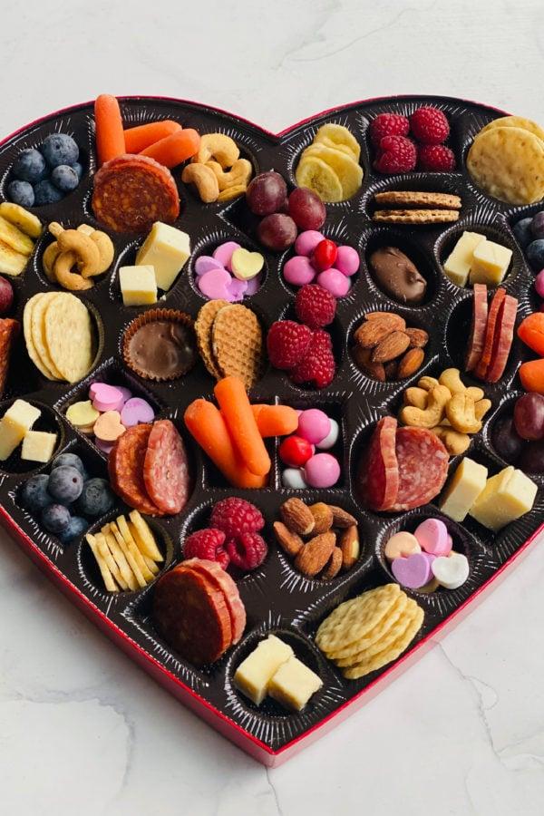 Heart Box Snack Tray Recipe