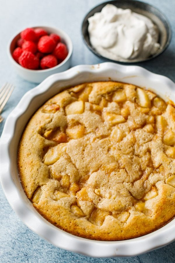 Pear Buttermilk Breakfast Cake
