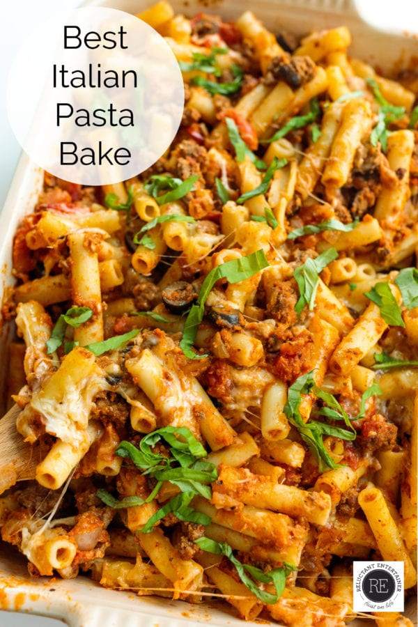 Best Italian Pasta Bake