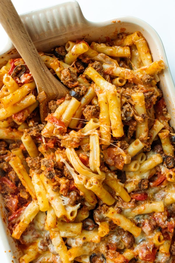 spoonful of Italian Pasta Bake