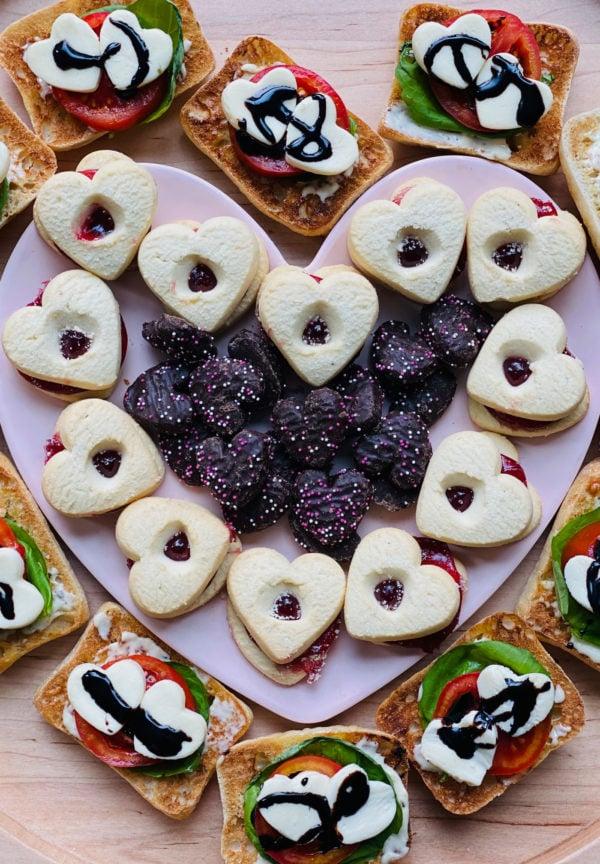 Heart Cookies sandwich Board