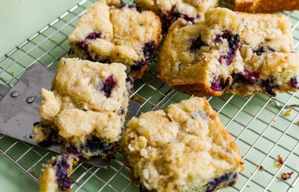 servings of Best Blueberry Kuchen Recipe