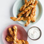 servings of Puff Pastry Orange Twists