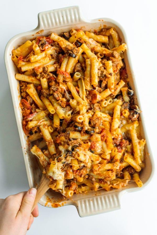9x13 pan Best Italian Pasta Bakes