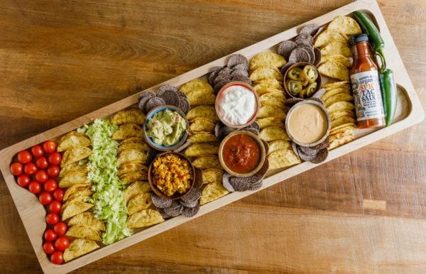 rectangle taco board