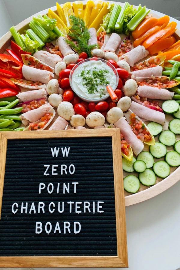 WW Zero Points Charcuterie Board