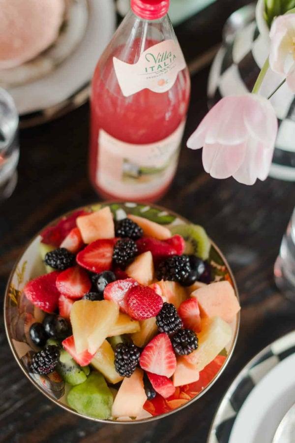 fruit salad for spring