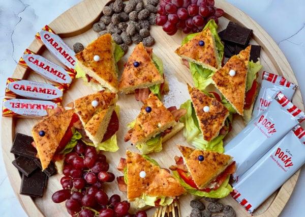 BLT Focaccia Board sandwiches
