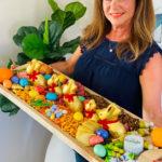 Easter Egg Charcuterie Board