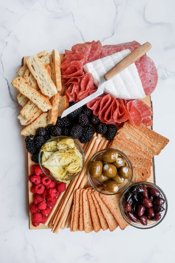 A Epic Charcuterie Board for 2 people