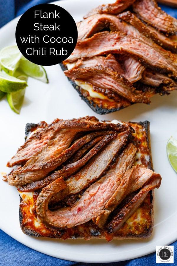Flank Steak with Cocoa Chili Rub