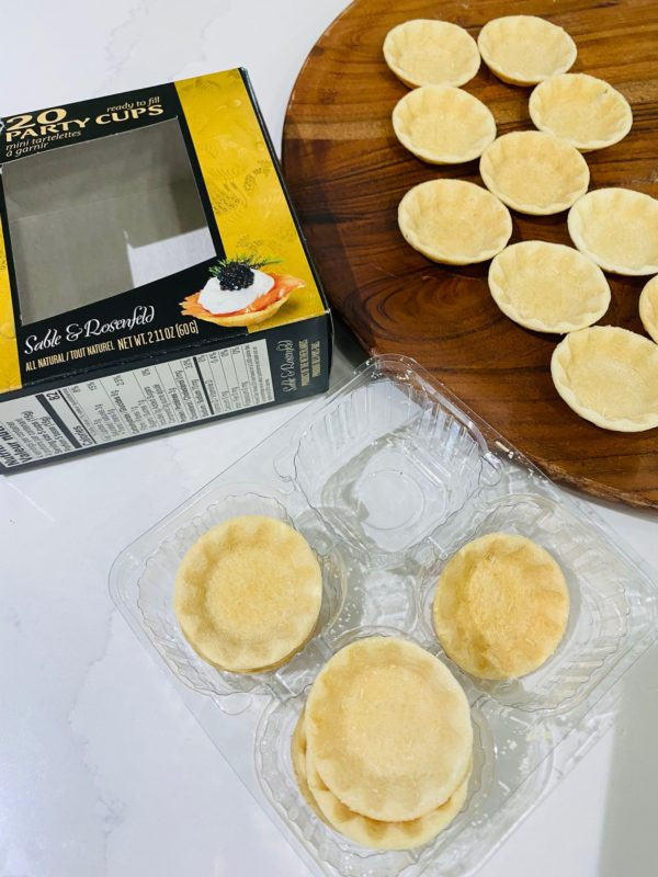 little pastry cups