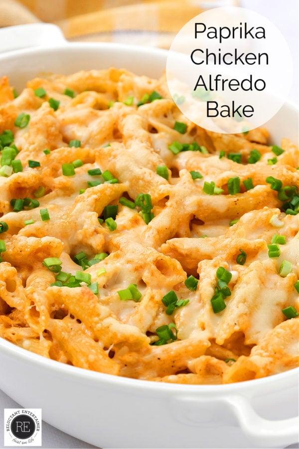 paparika chicken pasta bake