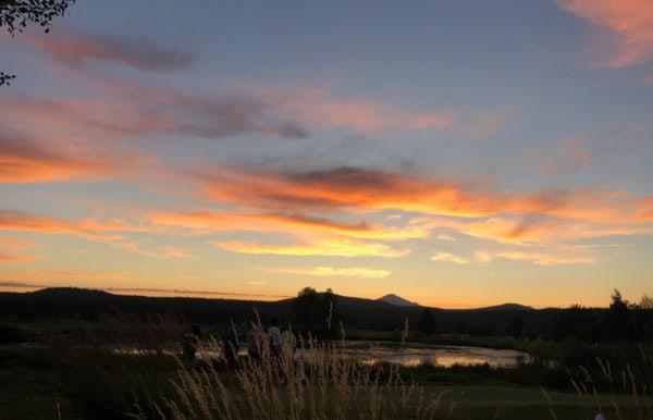sunriver resort sunset