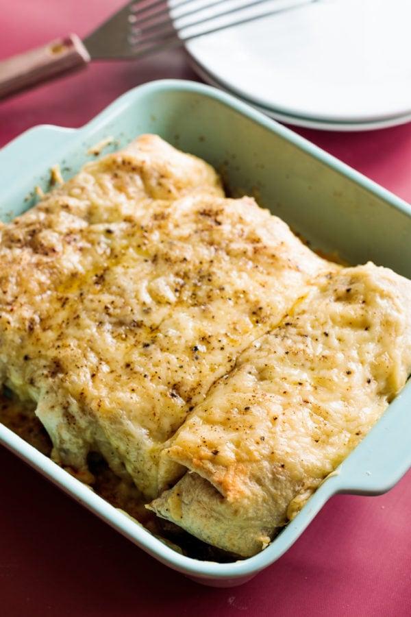 Monte Cristo Burrito Bake