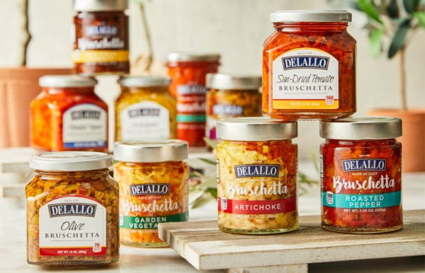 jars of bruschetta