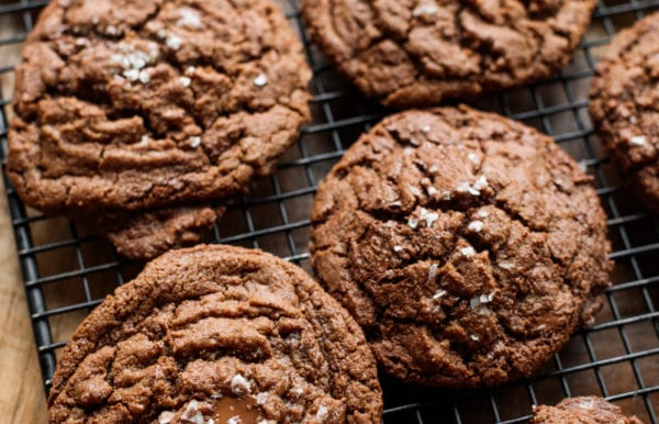 Peanut Butter Nutella Chocolate Cookies