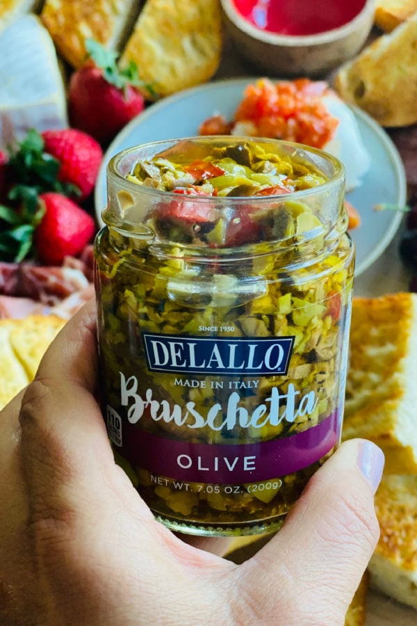 olive bruschetta jar