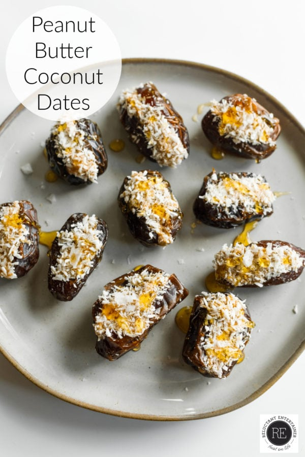 coconut stuffed dates