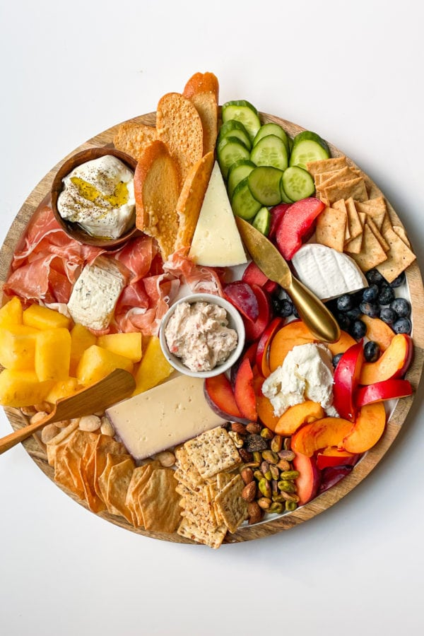 Quick Summer Cheese Charcuterie