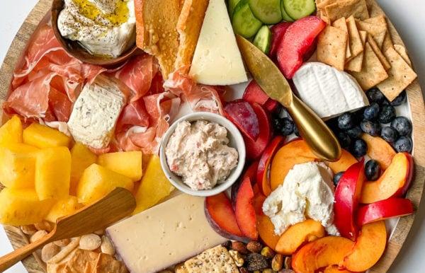 fresh Quick Summer Cheese Charcuterie
