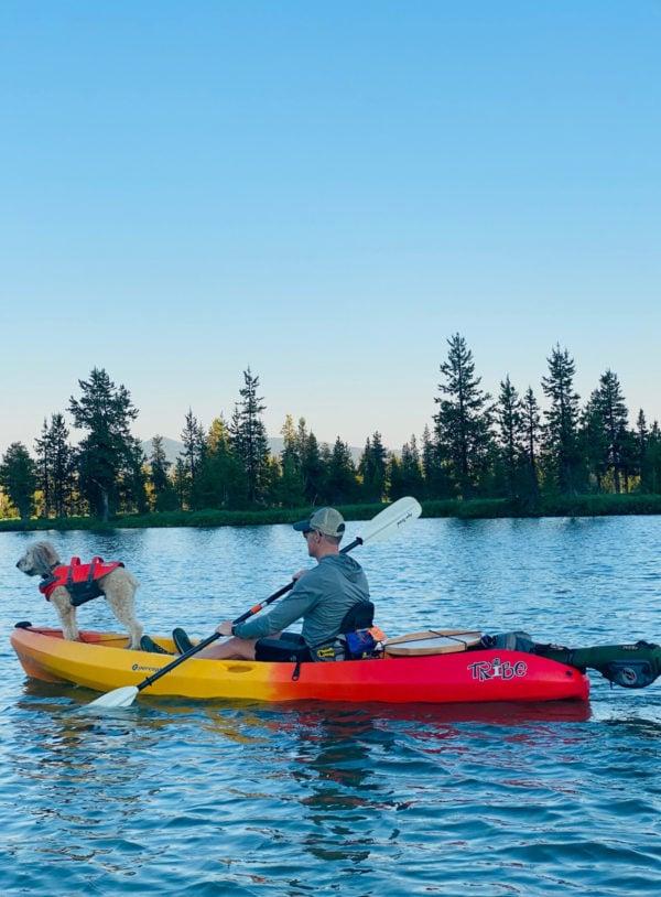 kayaking hosmer lake