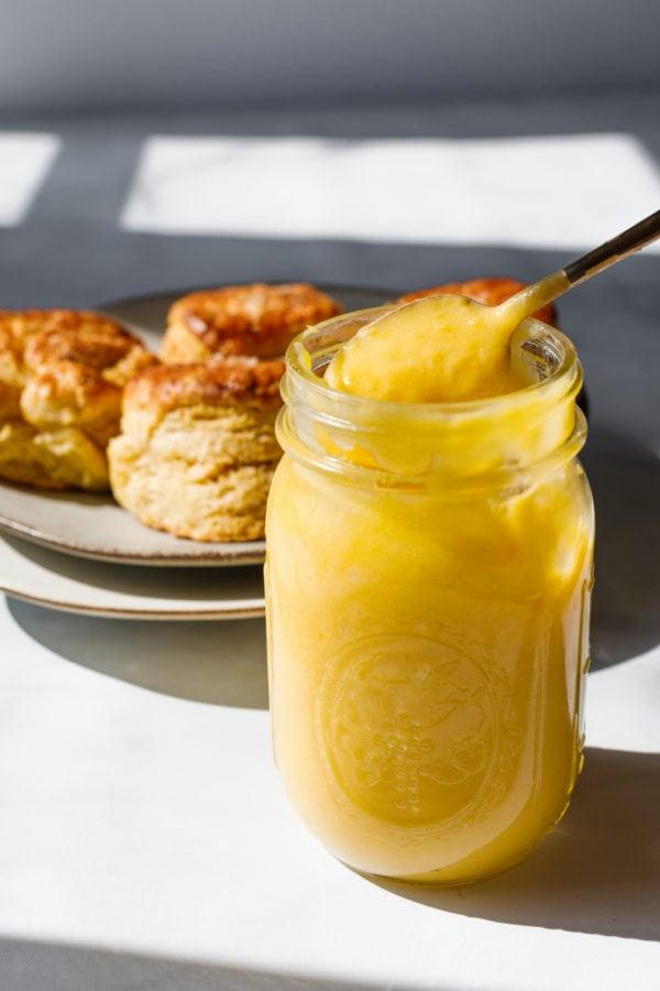spoonful of Lemon Curd Recipe
