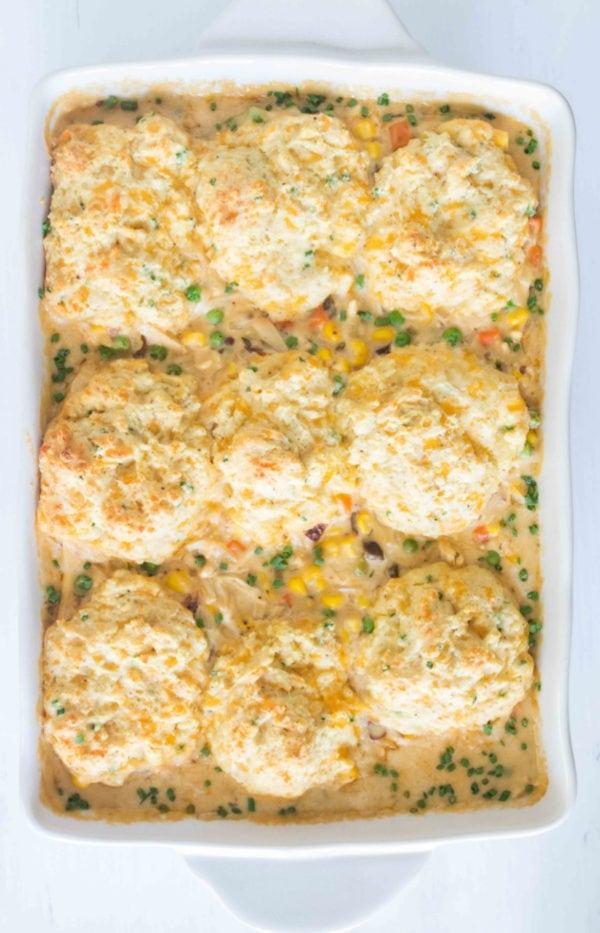 9x13 pan chicken pot pie