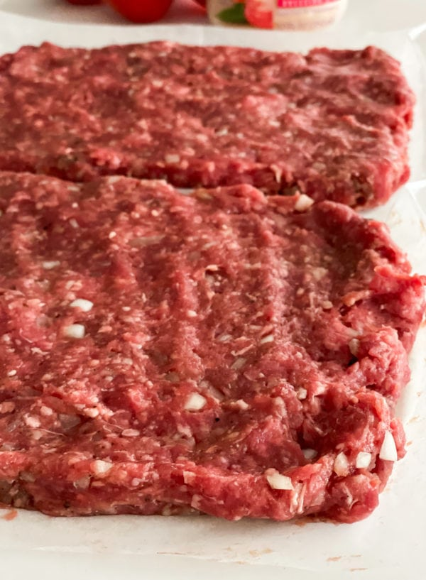 meat for burger board
