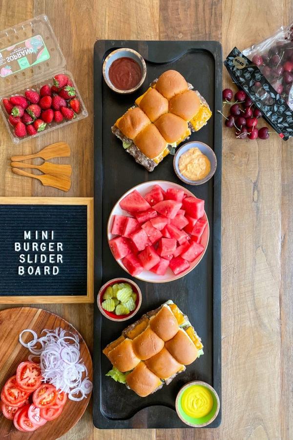 Epic Mini Burger Slider Board