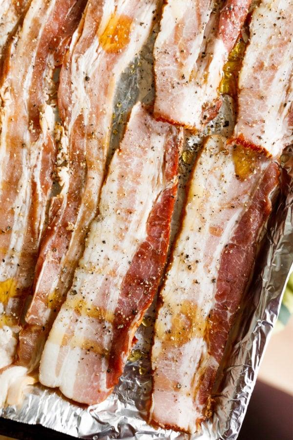 making honey bacon pepper