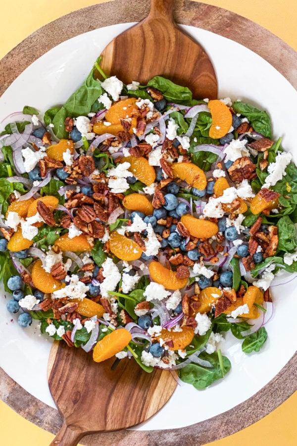 mandarin orange blueberry salad